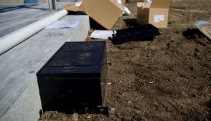 With a low-profile design, the Legrand Wiremold Ground Box mounts flush with any outdoor ground surface.