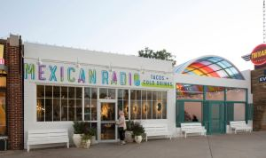 Mexican Radio is a concept restaurant that specializes in tacos and cold drinks.