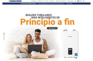 Spanish speaking users now have the ability to view the Navien website in Spanish.