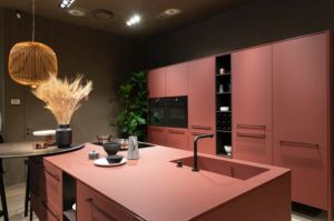 The FENIX product is a line of Italian-designed surfaces that is available through Formica Corp.