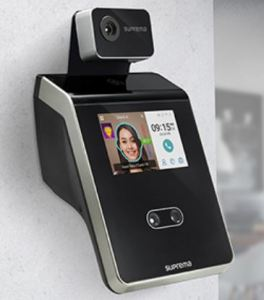 The Suprema Thermal Camera enhances security and safety at sites by combining face recognition and skin temperature measurement.