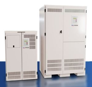 The expanded emergency inverter line from IOTA Engineering includes IIS Central Inverter Systems capable of servicing emergency lighting requirements up to 50kVA.