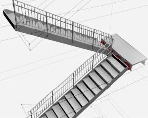 DriftReady Stairs can reduce building repair cost and recovery time after a seismic event.