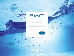 PWT provides facility maintenance teams with access to the status and usage patterns of managed water systems.