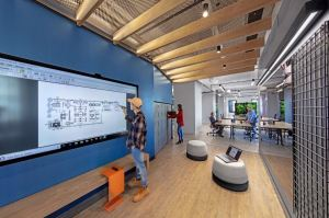 """The new M Moser workspace in New York represents an agile, future flexible """"living lab"""" for ongoing adaptation and change."""