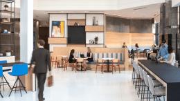 AT&T Tower, lobby, Metamorphosis Awards, NELSON Worldwide