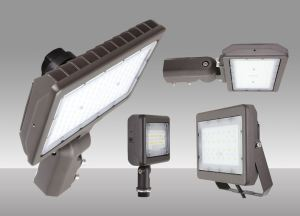 The Slim Flood Light Series offers CCT selectability, multiple mountings, narrow to wide beam spreads and photocell options.