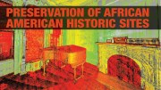 African American sites, historic preservation