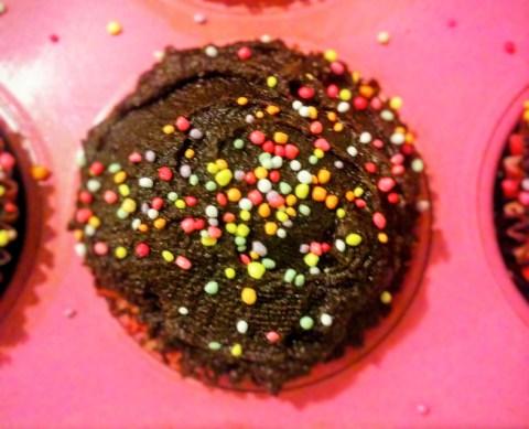 Devil's Food Cupcake1