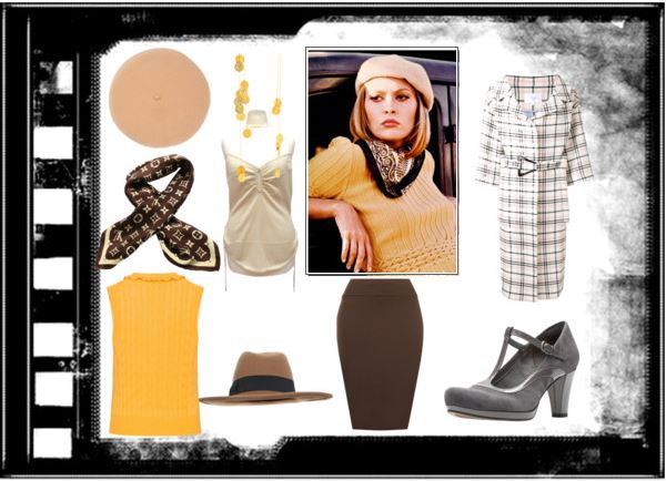 Polyvore - Inspired by Faye Dunaway