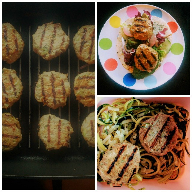 Zucchini Turkey Patties4