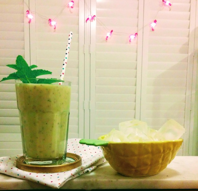 Pineapple Chia Smoothie