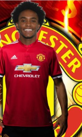 Willian-in-Man-United-jersey