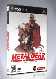 Metal Gear Solid Retro Game Cases