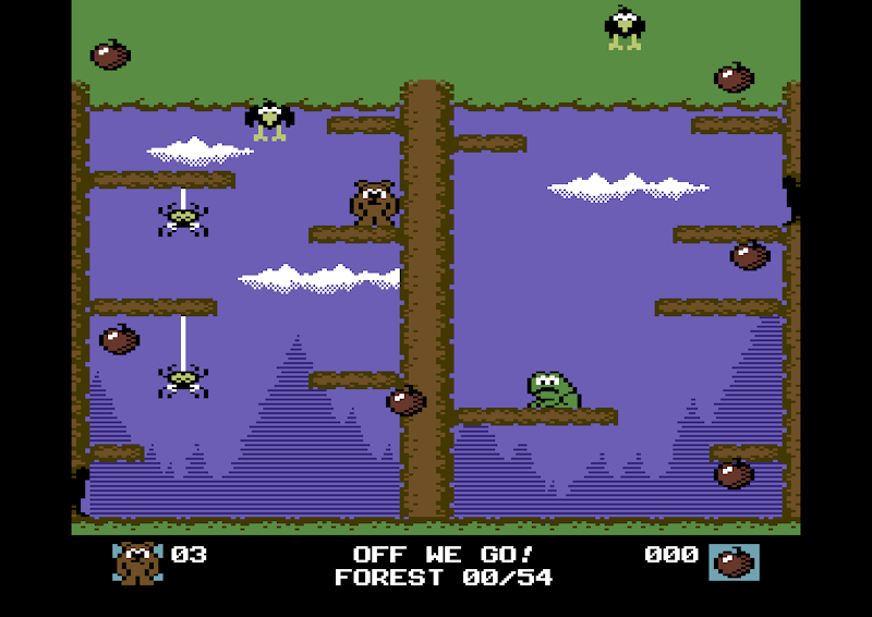 The Bear Essentials: Developing a Commodore 64 game – Part 3