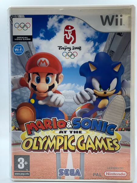 Mario   Sonic at the Olympic Games Wii Mario   Sonic at the Olympic Games  Wii