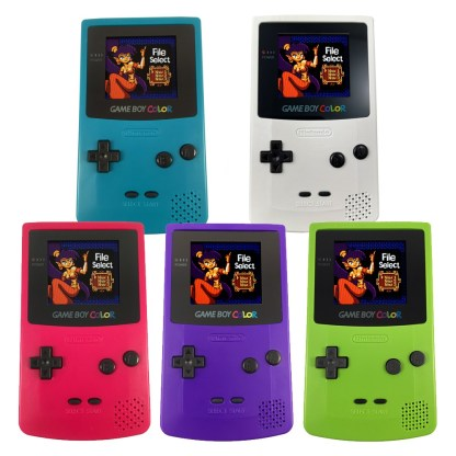 Nintendo Game Boy Color with IPS LCD Mod