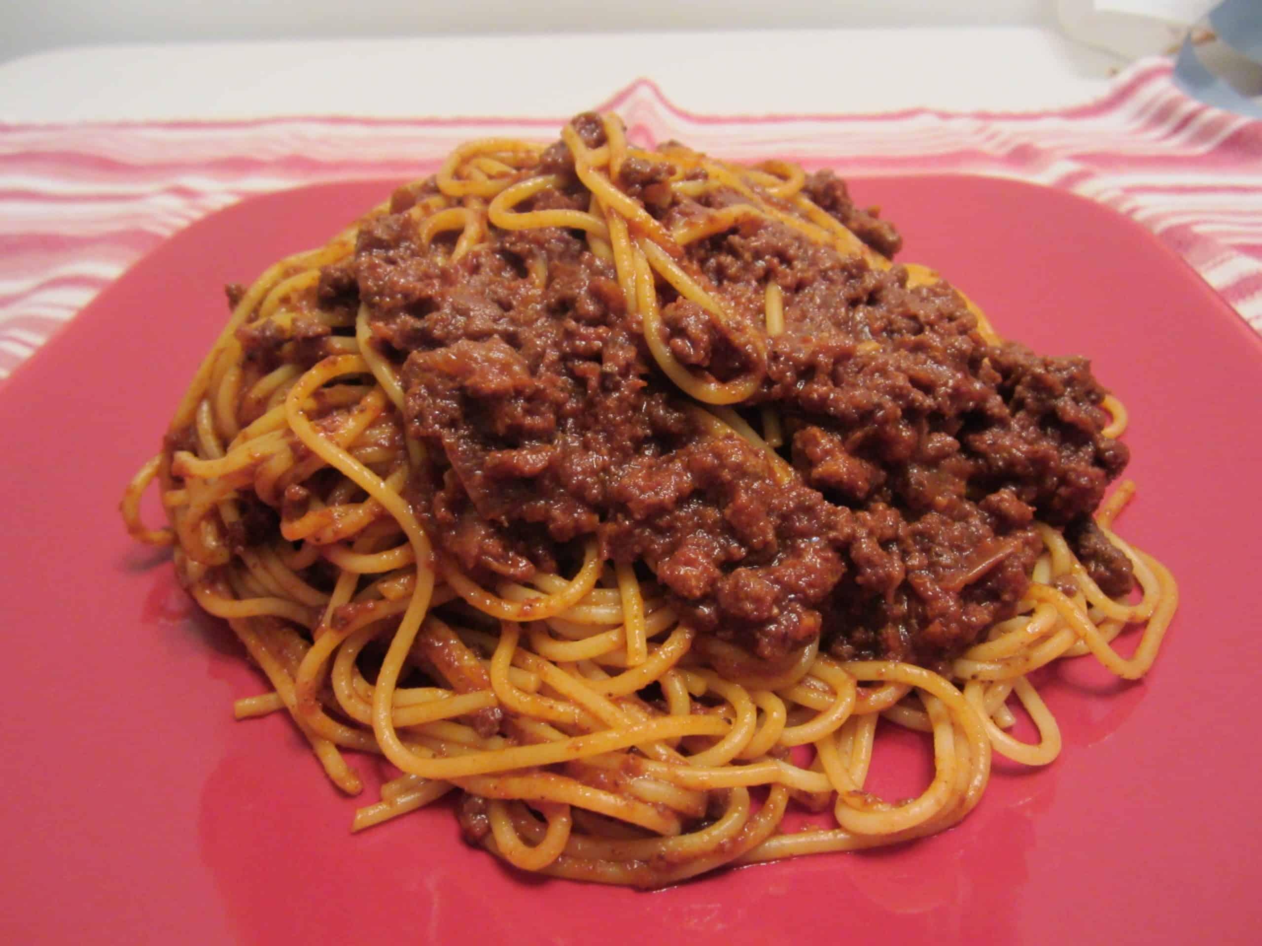 Colonel Sanders' Spaghetti Sauce (Allegedly)