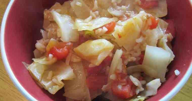 Cabbage Un-Rolls