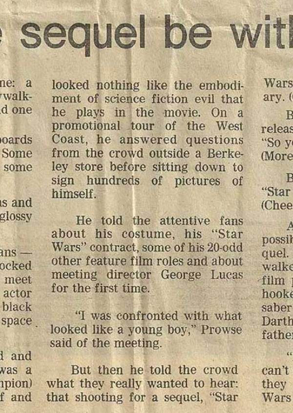 Yes, They Did have Star Wars Spoilers back in 1978