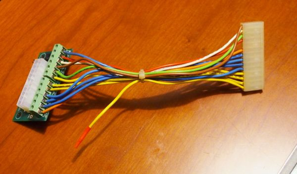 Yellow wire insulated