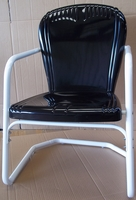 retro metal lawn chairs gliders and