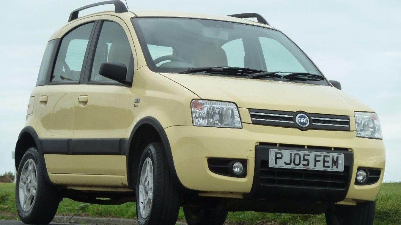 Fiat Panda 4x4: £1,999