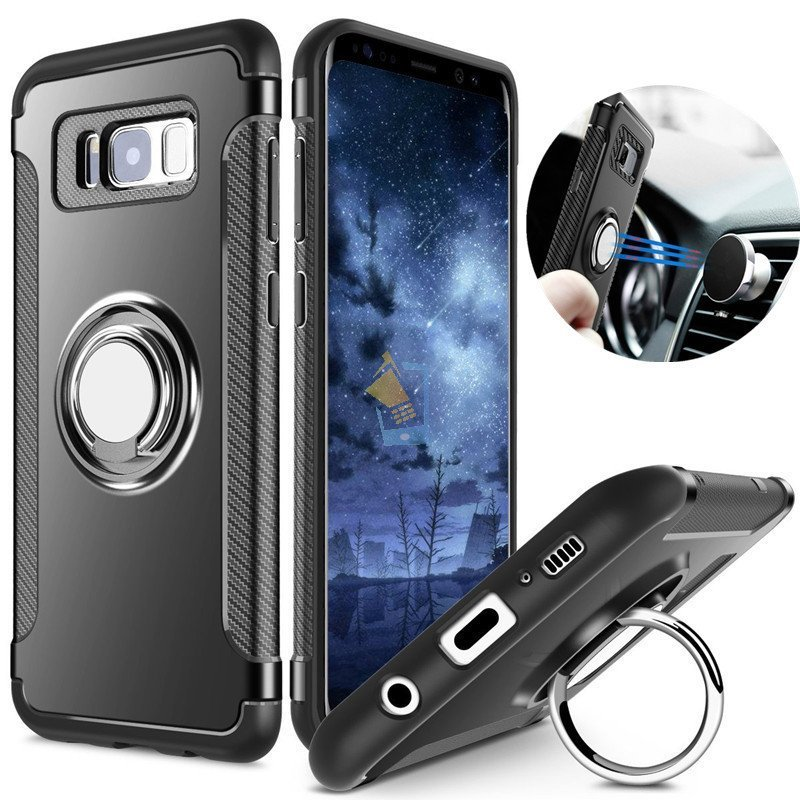 Samsung Galaxy S8 Premium Hard Back Case With Magnetic 360