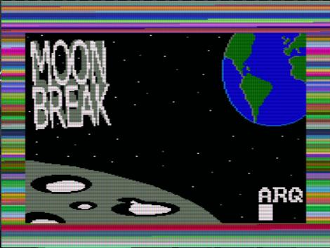 Moon Break, pantalla de carga