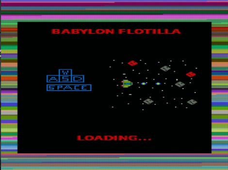 Babylon Flotilla, pantalla de carga.