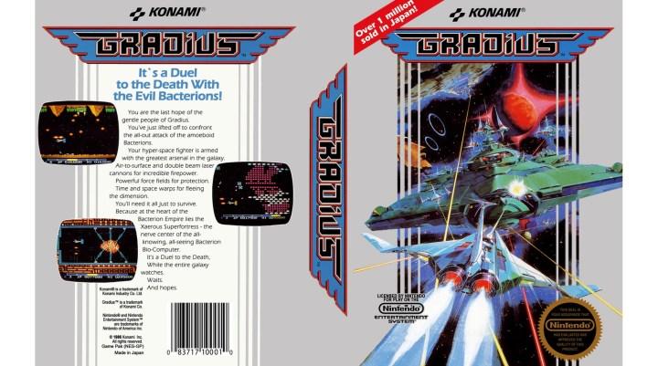 Gradius versión para NES