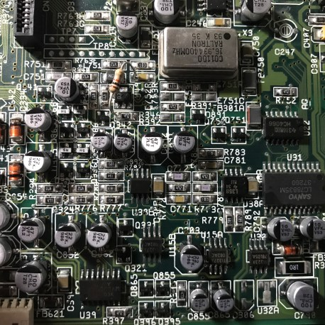 Amiga CD32 Recapped Mainboard