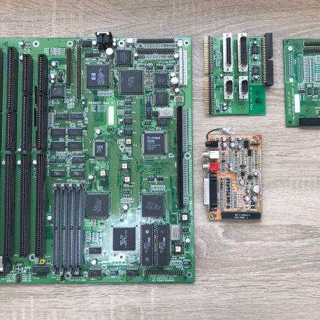 Amiga 4000T Recapped Mainboard
