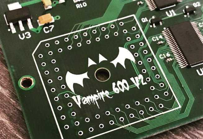 Vampire V2 600 PLCC Replacement