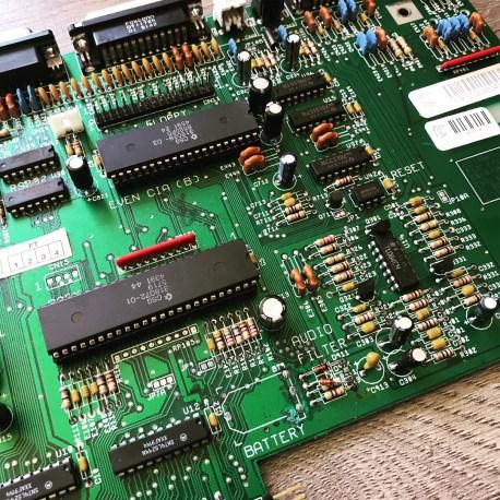 Amiga 500/500 Plus Recapped