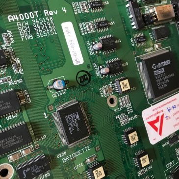 Amiga 4000T Recapped Polymer