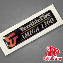Amiga 1200 Case Badge - TF1260 Black