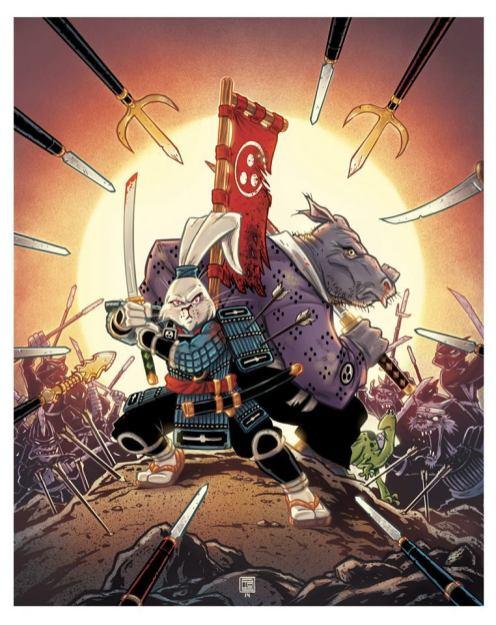 Usagi Yojimbo by Tim Shinn