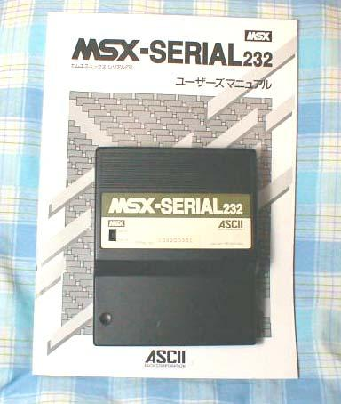 ASCII_MSX-Serial232_2 Lista de Interfaces e Dispositivos para MSX