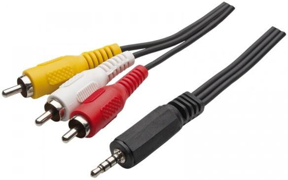 cabo-3-rca-1-p2-stereo-4c-p-dvd-automotivo-tv-de-led Organizando o Som de Suas Máquinas Retrô