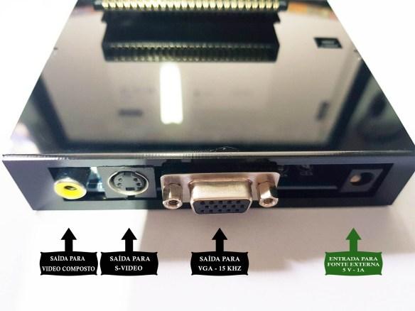 ma-20-conectores MA-20 Transforme seu MSX1 em um MSX2 via Cartucho