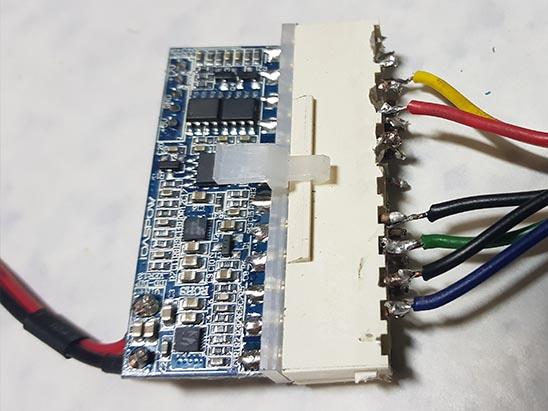 conector-soldado Fonte Externa no MSX Expert Gradiente