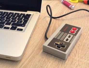 Die NES-USB-Maus