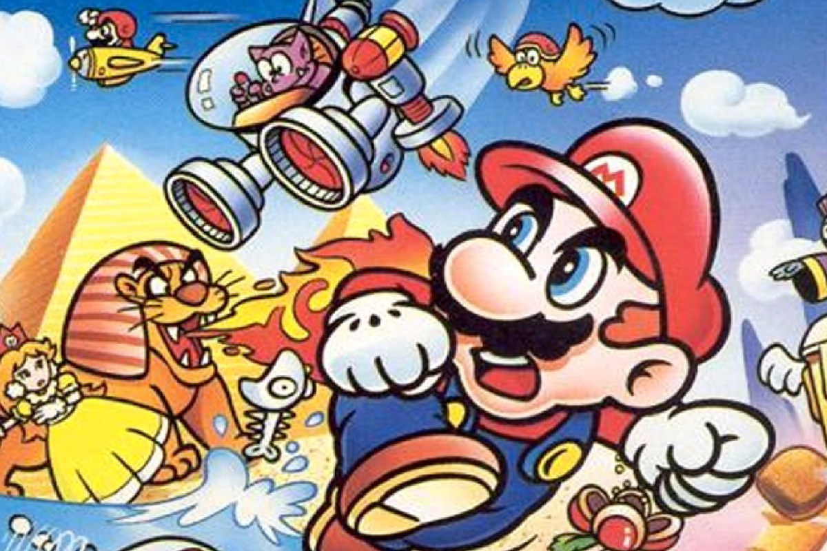 Super Mario Land (Gameboy, 1989)