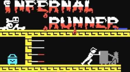 Infernal Runner (c64, 1985)