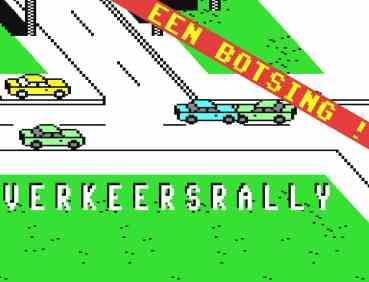 Verkeersrally (C64, 1985)