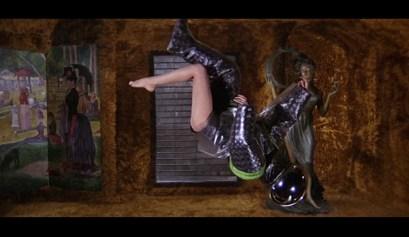 Barbarella's Zero-Gravity Striptease