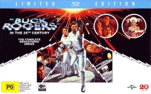 Buck Rogers in the 25th Century the Complete Series on BluRay (S1& S2) currently on sale for $59 from Amazon.com.au