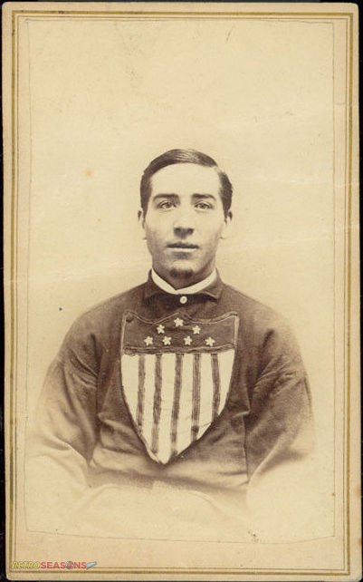 William Bill Craver from 1866 Troy Haymakers Lansingburgh Union Baseball Team Players