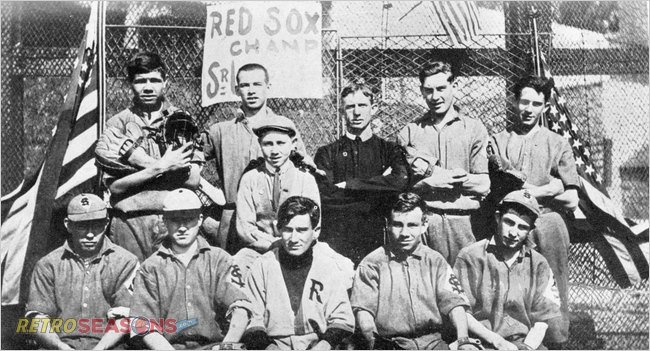 Babe Ruth Teammates in 1913